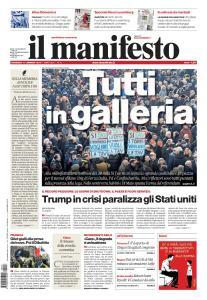 il Manifesto - 13 Gennaio 2019