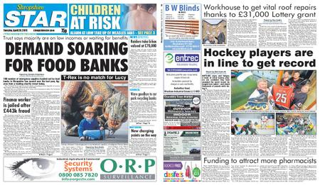 Shropshire Star Shrewsbury Edition – April 30, 2019