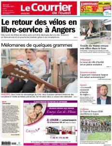 Le Courrier de l'Ouest Angers - 18 Octobre 2017