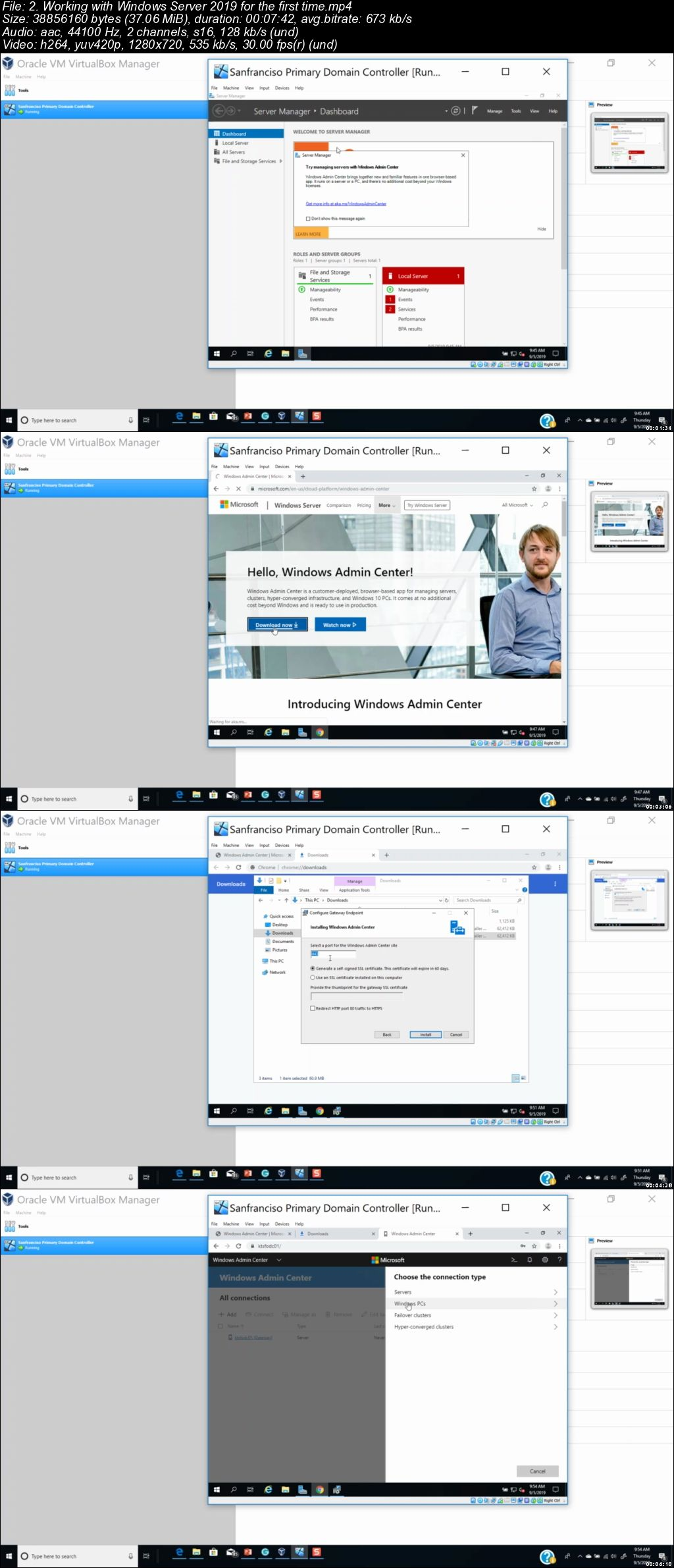 Windows Server 2019 Administration Essentials with Labs