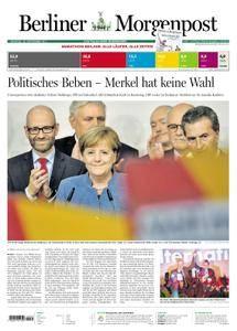 Berliner Morgenpost - 25. September 2017