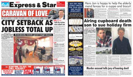 Express and Star City Edition – October 17, 2018