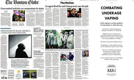 The Boston Globe – August 07, 2019