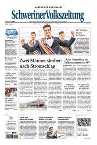 Schweriner Volkszeitung Hagenower Kreisblatt - 11. Dezember 2017