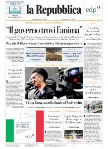 la Repubblica - 19 Novembre 2019