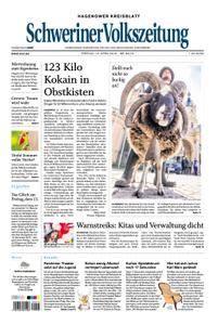 Schweriner Volkszeitung Hagenower Kreisblatt - 13. April 2018