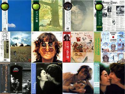 John Lennon: Japanese Mini LP Collection (1969-1984)