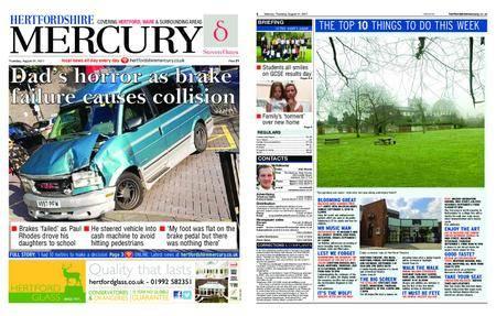 Hertfordshire Mercury – August 31, 2017