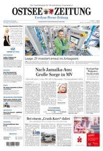 Ostsee Zeitung Wolgast - 21. November 2017