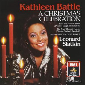 Kathleen Battle, Leonard Slatkin, Orchestra of St. Luke's: A Christmas Celebration (1990)