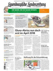 Lauenburgische Landeszeitung - 27. September 2017
