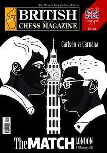 British Chess Magazine – November 2018