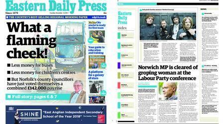 Eastern Daily Press – December 12, 2017