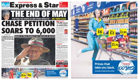 Express and Star Staffordshire Edition – May 24, 2019