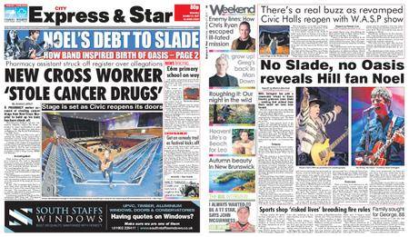 Express and Star City Edition – October 21, 2017