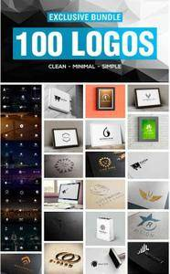 CreativeMarket - 100 Breathtaking LOGO COLLECTION