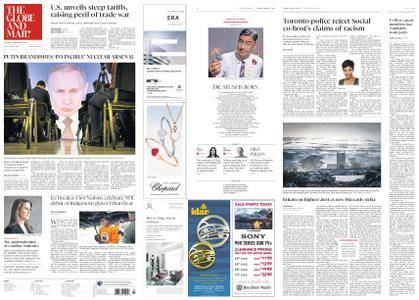 The Globe and Mail – March 02, 2018