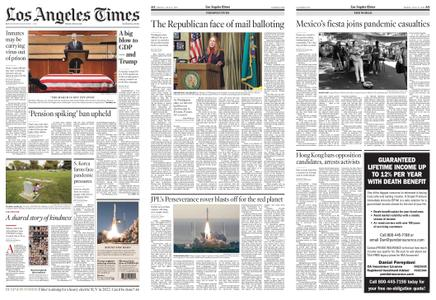 Los Angeles Times – July 31, 2020