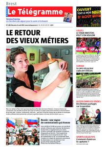 Le Télégramme Brest Abers Iroise – 11 août 2019