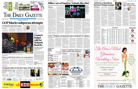 The Daily Gazette – January 22, 2020