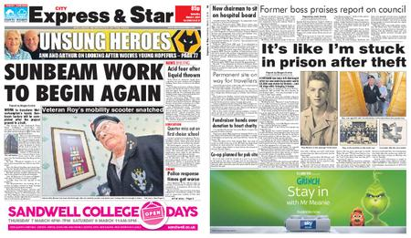 Express and Star City Edition – March 02, 2019