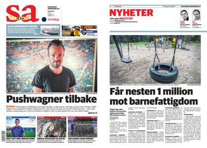 Sarpsborg Arbeiderblad – 18. juli 2019