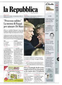 la Repubblica - 4 Gennaio 2018