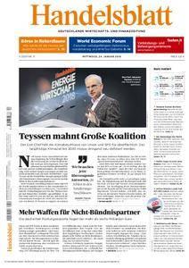 Handelsblatt - 24. Januar 2018