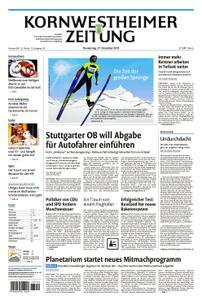 Kornwestheimer Zeitung - 27. Dezember 2018