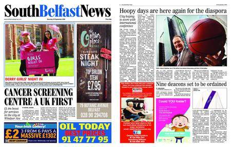 South Belfast News – September 27, 2018