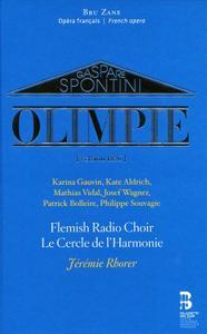 Jeremie Rhorer, Le Cercle de l'Harmonie - Gaspare Spontini: Olimpie [Version 1826] (2019)