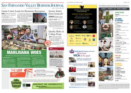 San Fernando Valley Business Journal – January 21, 2019