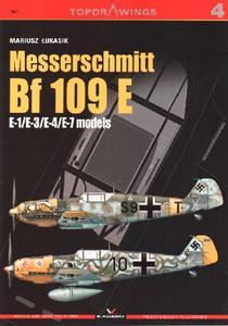 Messerschmitt Bf 109E: E-1/E-3/E-4/E-7 models (Kagero Topdrawings 04)