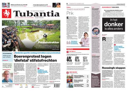 Tubantia - Hengelo – 14 oktober 2019