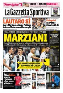 La Gazzetta dello Sport Roma – 30 settembre 2018