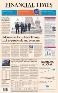Financial Times Europe - January 15, 2021