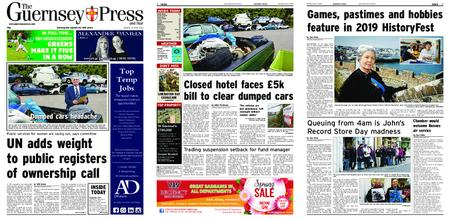 The Guernsey Press – 15 April 2019