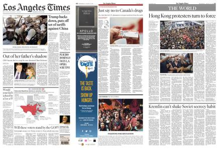 Los Angeles Times – August 14, 2019