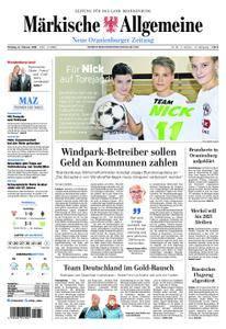 Neue Oranienburger Zeitung - 12. Februar 2018