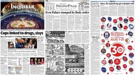 Philippine Daily Inquirer – August 23, 2016