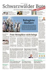 Schwarzwälder Bote Blumberg - 24. Juni 2019
