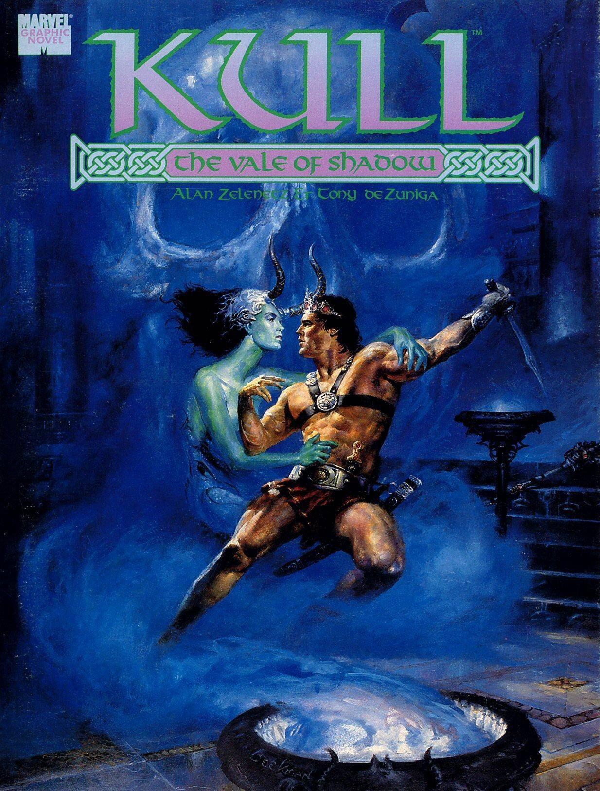 Marvel Graphic Novel 47 - Kull - The Vale Of Shadow 1989