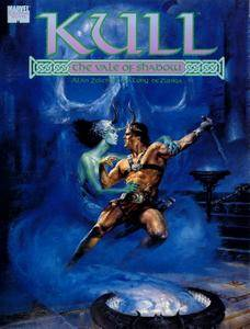 Marvel Graphic Novel 47 - Kull - The Vale Of Shadow 1989