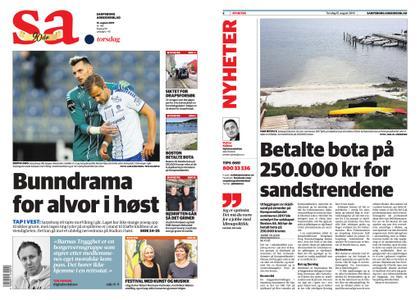 Sarpsborg Arbeiderblad – 15. august 2019