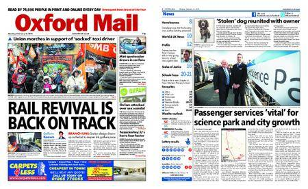 Oxford Mail – February 12, 2018