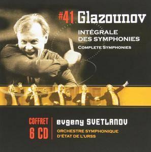 Glazunov - Symphonies (Evgeny Svetlanov) (2010) (6CD Box Set)