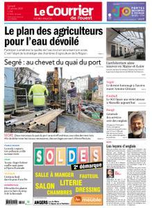 Le Courrier de l'Ouest Nord Anjou – 25 janvier 2020