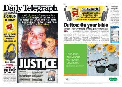 The Daily Telegraph (Sydney) – September 07, 2017