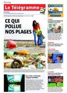 Le Télégramme Auray – 16 août 2019