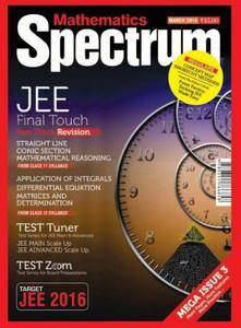 Spectrum Mathematics - March 2016